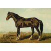 Buyenlarge Dongola Horse by Samuel Sidney Painting Print