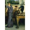 Buyenlarge 'Pottery Painting' by Alma-Tadema Painting Print