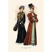 Buyenlarge Two Handsome Coats Painting Print