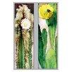 Buyenlarge Cactus Flowers 2 Piece Graphic Art Set