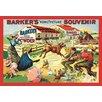 "Buyenlarge 'Barker's ""Komic"" Picture Souvenir: Barnyard Tussle' Vintage Advertisement"