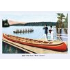 Buyenlarge War' Canoe Graphic art