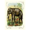 Buyenlarge The Elephant Painting Print