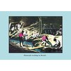 Buyenlarge Diamond Washing in Brazil by John Howard Appleton Painting Print