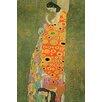 Buyenlarge 'Abandoned Hope' by Gustav Klimt Graphic Art