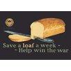 Buyenlarge Save a Loaf Vintage Advertisement