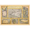 Buyenlarge Maps of Italian Islands by A. Ortelius Graphic Art