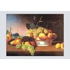 Buyenlarge 'Still Life with Fruit' by James Peale Painting Print