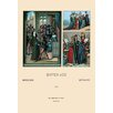 Buyenlarge 'People and Places of Medieval Europe' by Auguste Racinet Graphic Art