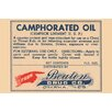 Buyenlarge 'Camphorated Oil - Liniment' Textual Art