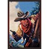 Buyenlarge Western Story Magazine: on the Black Ridge Painting Print