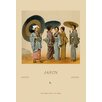 Buyenlarge Traditional Japanese Women by Auguste Racinet Painting Print