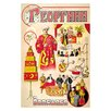 Buyenlarge 'Russian Magician' Vintage Advertisement