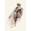Buyenlarge 'She Sports a Witching Gown' by Harrison Fisher Painting Print