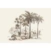 Buyenlarge Palm Trees by Baron de Montalemert Graphic Art