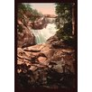 Buyenlarge 'Cerisy Waterfall' by Detroit Photographic Company Framed Photographic Print