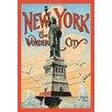 Buyenlarge 'New York; The Wonder City' by Irving Underhill Vintage Advertisement