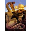Buyenlarge 'The Reluctant Dragon' by Maxfield Parrish Painting Print