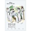 Buyenlarge 'Album Blouses Nouvelles: Leisure on the Lawn' by Atelier Bachroitz Painting Print