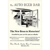 Buyenlarge 'The Auto Beer Bar' by Tousey Vintage Advertisement