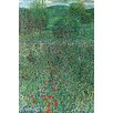Buyenlarge 'Garden Landscape' by Gustav Klimt Painting Print