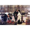 Buyenlarge 'The Captain and His Girl' by James Tissot Painting Print