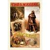 Buyenlarge 'Thos W. Keene as Macbeth' by W.J. Morgan & Co. Vintage Advertisement