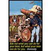 Buyenlarge 'Ask not what you can do for beer but what beer can do for you' by Wilbur Pierce Graphic Art
