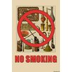 Buyenlarge 'No Smoking' by Wilbur Pierce Graphic Art