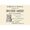 Buyenlarge 'Barkley and Hasson Roasted Coffee' Textual Art