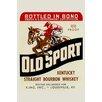 Buyenlarge 'Old Sport Kentucky Straight Bourbon Whiskey' Vintage Advertisement
