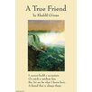 Buyenlarge 'On Friendship - A true Friend from The Prophet' by Khalil Gilbran Graphic Art