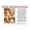 Buyenlarge 'What the Navy is doing - Training' by Joseph Christian Leyendecker Vintage Advertisement