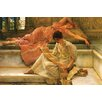 Buyenlarge 'A Favorite Poet' by Alma-Tadema Painting Print