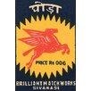 Buyenlarge 'Pegasus - Brillant Match Works' Graphic Art