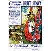 Buyenlarge 'Hut Day; A National Work' by Ernest Hasseldine Graphic Art