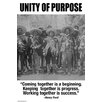 Buyenlarge 'Unity of Purpose' by Wilbur Pierce Vintage Advertisement