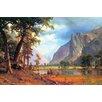 Buyenlarge 'Yosemite Valley' by Albert Bierstadt Painting Print