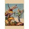 Buyenlarge 'Sprite Needs His Socks Darned' by Home Arts Painting Print