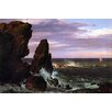 Buyenlarge 'Coastal scene' by Frederic Edwin Church Painting Print