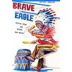 Buyenlarge 'Brave Eagle' Wall Art