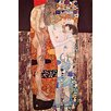 Buyenlarge 'The 3 Ages of a Woman' by Gustav Klimt Painting Print