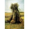 Buyenlarge 'Sheaves Bundled High in a Field' by Vincent Van Gogh Painting Print
