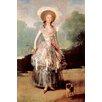 Buyenlarge 'Portrait of Marquesa De Pontejos Y Sandoval' by Francisco Goya Painting Print