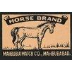Buyenlarge 'Horse Brand' Vintage Advertisement