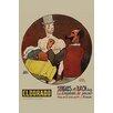 Buyenlarge 'Tamer of Fleas' by Gus Bofa Vintage Advertisement