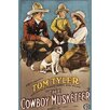 Buyenlarge The Cowboy Musketeer Vintage Advertisement