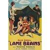 Buyenlarge 'Lame Brains' Vintage Advertisement