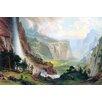 Buyenlarge 'Half Dome in Yosemite' by Albert Bierstadt Graphic Art