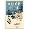 Buyenlarge 'Alice Gets in Dutch' by M.J. Winkler Vintage Advertisement